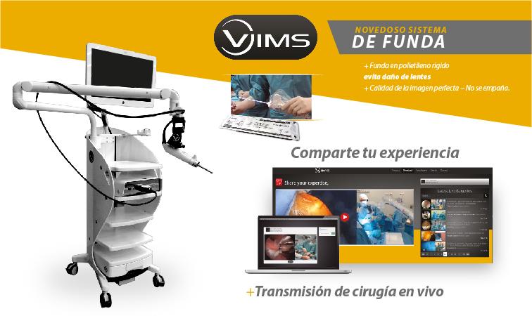 Sub menu Torre de Artroscopia VIMS 4K-01
